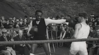 Pete Sanstøl og Al Brown trener på Bislett