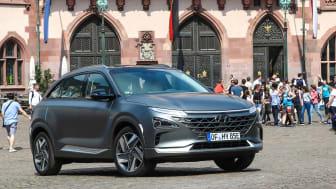 Helt nye Hyundai NEXO. Foto: Hyundai