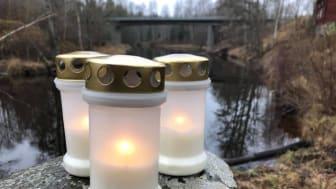 Ljusmanifestationen för Järle kvarn hålls 10 december - utan domstol