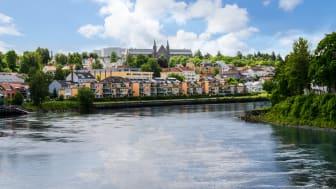 Trøndelag har styrt unna misligholdsveksten, men Sør-Trøndelag har opplevd en økning den siste tiden. Det gjelder spesielt Trondheim (bildet). Foto: Pixabay