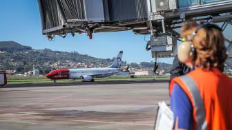 Avión de Norwegian en Tenerife Norte