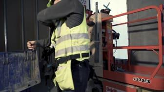 Bygma og MT Højgaard tester EksoVest