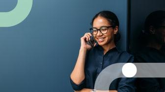 Utspridda medarbetare ökar kraven på en flexibel molnväxel. En mobil växel kan hjälp dig och ditt team till en bättre balans i vardagen – och till nöjdare kunder.