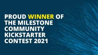 Croatian startup wins Milestone Community Kickstarter Contest 2021