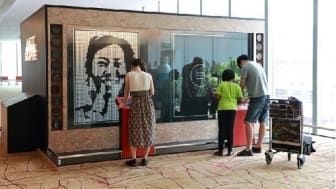 Changi Airport introduces new interactive art to showcase Singapore
