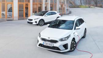 Kia Ceed Sportswagon Plug-In Hybrid och Kia XCeed Plug-In Hybrid