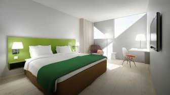 Scandic Victoria Tower inreds med möbler från Vitra