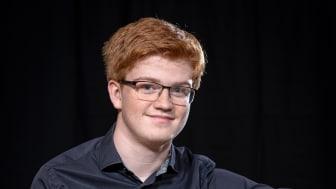 Vinnare av Polstjärnepriset 2021 blev 17-årige pianisten Vilhelm Moqvist från Götene.