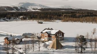 Boutique hotelli Aurora Estate sijaitsee Ylläksellä. Kuva:Alexander Kuznetsov