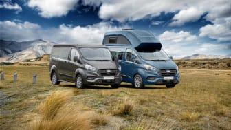 Ford přináší novinku v podobě modelu Transit Custom Nugget