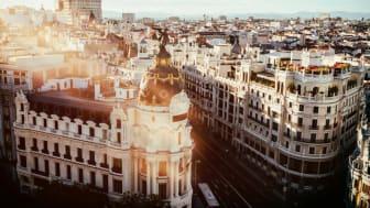 Evening view of the street Gran Vía in Madrid. Photo: Shutterstock.