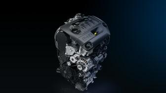 Euro 6-klassad modern och ultrasnål dieselmotor.