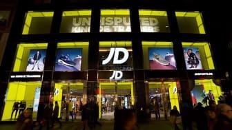 JD Sports öppnar ny flaggskeppsbutik i Gallerian