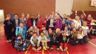 Klass 4 på Råå Södra skola i Helsingborg tävlar på riksnivå i Schack