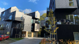 Venligbolig Plus på Frederiksberg. Det er ONV Arkitekter, der har tegnet boligerne på Frederiksberg, og som nu også har tegnet de indledende projektskitser i Rødovre.