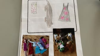 """""""Hemma hos mig"""", elev i 2C på Hagenskolan berättar om sin vardag"""
