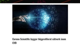 BioStock artikel: Cereno Scientific bygger högprofilerat nätverk inom CVD