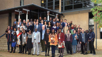African research leaders and university of Oxford researchers meeting at Anthony's college to develop the strategy for the Africa Oxford Initiative