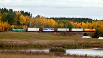 Låga volymer under tredje kvartalet påverkar Green Cargos resultat negativt