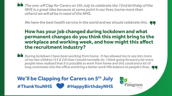 WHAT THE NHS MEANS TO FINEGREEN - BEVERLEY FINAN