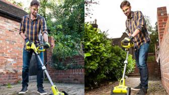 Plattrensare och Multiborste, två verktyg som underlättar rengöringen