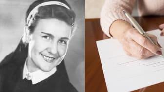 Anna Lundgren var stolt över sin sjuksköterskelegitimation. Vid livets slut valde hon att skänka sitt arv till SSMF.