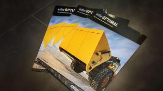 Ny broschyr för vägunderhållsprogrammet Trejon Optimal