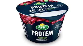 Arla Protein puolukka proteiinirahka 200 g