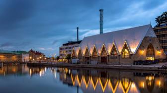 Feskekôrka - Göteborgs kanske främsta ikonbyggnad, genomgår en genomgripande upprustning