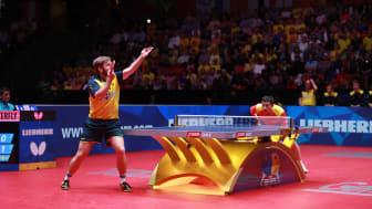 Jon Persson under VM i Halmstad 2018. Foto: ITTF
