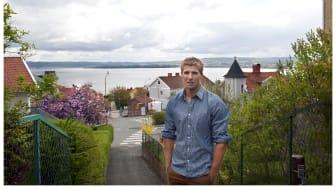 Elitkanotisten Anders Gustafsson visar upp sitt Jönköping