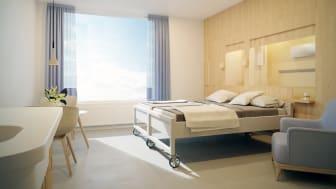 Tungt vårduppdrag till Liljewall – ritar vidare på förlossning- och neonatalvårdens nya byggnad på Östra sjukhuset