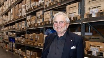 Hydroscands grundare, Björn Holmström, blickar tillbaka på åren som har gått.