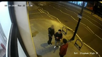 CCTV footage of the assault