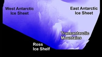 A 3D image of the three subglacial valleys (the Patuxent Trough, Foundation Trough and Offset Rift Basin), from the data recorded in the PolarGAP survey