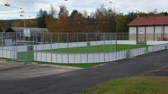 Så här kommer den nya multiarenan i Nyland att se ut, bilden är från en liknande arena.