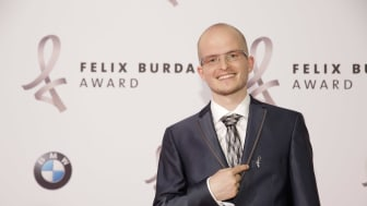 """Benni Wollmershäuser wurde als erster """"Ehrenfelix"""" in 2017 ausgezeichnet."""