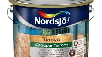 SP test visar att Nordsjö Tinova UV Super Terrace är bäst i test
