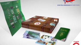 Kampanjmaterial:  Den digitala resan resekit