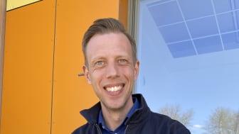 Tobias Johansson, projektchef APP Properties