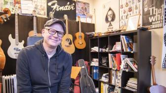 Jon Stavert- verksamhetsansvarig och musiklärare