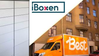 Best Transport först ut att leverera till iBoxen - lanserar nu tjänsten Best Box