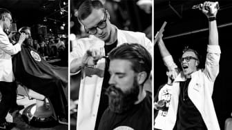 Årets barberare 2019 - Alan Mannerstål. (foto: Carl D Marshall / Barber Supplier)