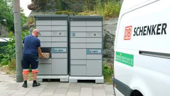 En stor fördel med iBoxens lösning är att den är öppen för såväl transportörer som mottagare dygnet runt.