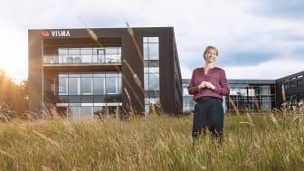 """""""Vi ser frem mod et spændende 2020, og vi vil gøre alt, hvad vi kan, for at være proaktive på de muligheder, der er i markedet. Vi har i hvert tilfælde løsningerne til det"""", siger adm. direktør Monika Juul Henriksen fra Visma Enterprise A/S."""