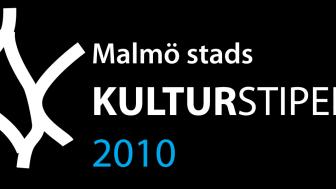 Välkommen till Malmö stads kulturstipendieutdelning