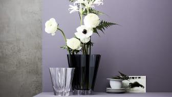 Von Porzellan zu Glas: 2020 legt Rosenthal die beliebte Flux Vase als Glasvariante neu auf.