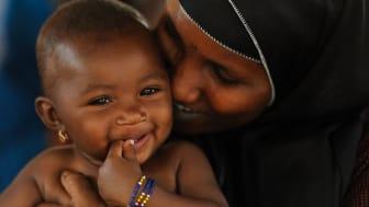 Gåvan till Mors dag finns i UNICEFs gåvoshop