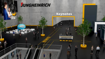 Jungheinrich erbjuder virtuell mässa