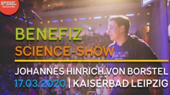 Benefiz-Science-Show mit Johannes H. v. Borstel